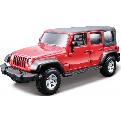 Машина Bburago JEEP WRANGLER UNLIMITED RUBICON (18-45121)