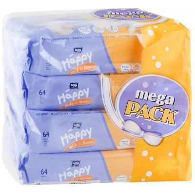bella Baby Happy Milk & Honey Mega Pack 4 х 64 шт 5900516015022