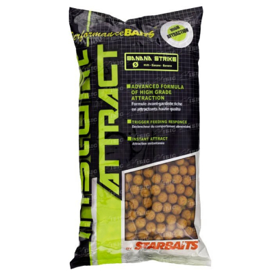 starbaits Instant attract Banana strike банан 14мм 1кг 32.59.61