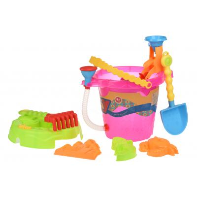same toy 6 ед Ведерко розовое 976Ut-1