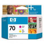 Печатающая головка HP No.70 Magenta and Yellow Фото