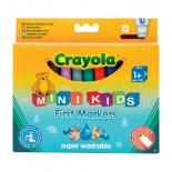 Набор для творчества Crayola 12 легко смываемых широких фломастеров Фото