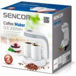 Кофеварка Sencor SCE2001WH Фото 2