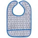 Слюнявчик Luvable Friends 5 шт с узорами, голубой Фото 2