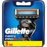Сменные кассеты Gillette Fusion ProGlide 8 шт Фото 1