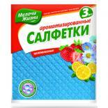 Салфетки для уборки Мелочи Жизни влагопоглощающие ароматизированные 3 шт Фото