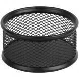 Подставка для скрепок Axent 80x80x40мм, wire mesh, black Фото