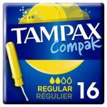 Тампоны Tampax Compak Regular с апликатором 16 шт Фото