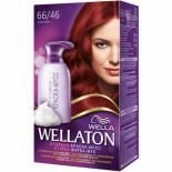 Краска-мусс для волос Wellaton стойкая 66/46 Дикая вишня Фото