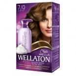 Краска-мусс для волос Wellaton стойкая 7/0 Осенние листья Фото