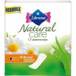 Ежедневные прокладки Libresse Natural Care Pantyliners Normal 40 шт Фото