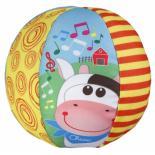 Развивающая игрушка Chicco Музыкальный мяч Фото