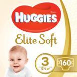 Подгузник Huggies Elite Soft 3 (5-9 кг) 160 шт Фото