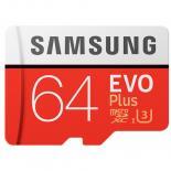 Карта памяти Samsung 64GB microSD class 10 EVO PLUS UHS-I Фото