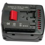 Аккумулятор к электроинструменту PowerPlant для BOSCH GD-BOS-14.4(B) 14.4V 4Ah Li-Ion Фото 1