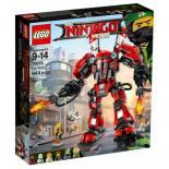 Конструктор LEGO NINJAGO Огненный робот Кая Фото