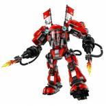Конструктор LEGO NINJAGO Огненный робот Кая Фото 2