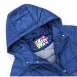 Куртка Snowimage удлиненная с капюшоном и цветочками Фото 2