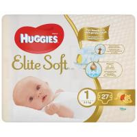 Подгузник Huggies Elite Soft 1 Small 27 шт Фото