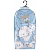 Набір дитячого одягу Luvena Fortuna для мальчиков подарочный 7 предметов Фото