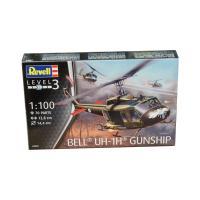 Сборная модель Revell Многоцелевой вертолёт Bell UH-1H Gunship 1:100 Фото