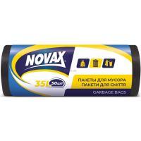 Пакеты для мусора Novax 35 л 50 шт Фото