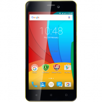 Мобильный телефон PRESTIGIO MultiPhone 3508 Wize P3 DUO Yellow Фото