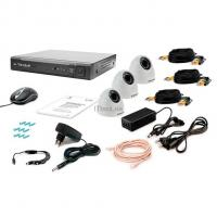 Комплект видеонаблюдения Tecsar 3IN-3M DOME Фото