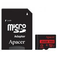Карта пам'яті Apacer 64GB microSDXC class 10 UHS-I U1 Фото