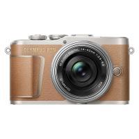 Цифровой фотоаппарат OLYMPUS E-PL9 14-42 mm Pancake Zoom Kit brown/silver Фото