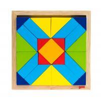 Пазл Goki Мир форм-прямоугольник Фото