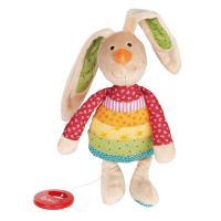 М'яка іграшка Sigikid музыкальный Кролик 27 см Фото