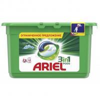 Капсулы для стирки Ariel 3 в 1 Горный родник 13 капсул х 6 уп (78 стирок) Фото