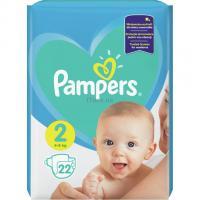 Подгузник Pampers New Baby Mini Размер 2 (4-8 кг), 22 шт. Фото