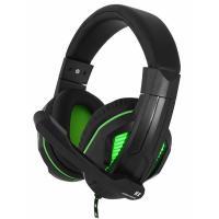 Навушники Gemix N2 LED Black-Green Gaming Фото