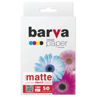 Папір BARVA 10x15,180 g/m2, matt, 50арк Фото