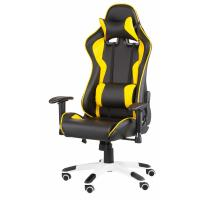 Крісло ігрове Special4You ExtremeRace black/yellow Фото