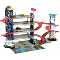 Ігровий набір Dickie Toys Паркинг четырехэтажный с автомобилями и вертолетом Фото