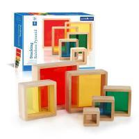 Игровой набор Guidecraft Набор блоков Block Play Цветная пирамидка Фото