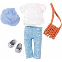 Аксессуар к кукле Lori Набор одежды для кукол - Сумка с бахромой Фото