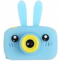 Інтерактивна іграшка XoKo Rabbit Цифровой детский фотоаппарат голубой Фото