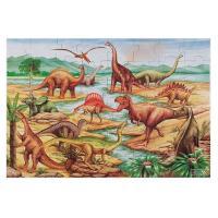 """Пазл Melissa&Doug Мега """"Динозаври"""" , 48 елементів Фото"""