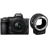 Цифровой фотоаппарат Nikon Z5 + 24-50mm F4-6.3 + FTZ Adapter Kit Фото