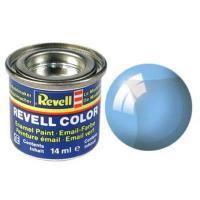 Аксесуари до збірних моделей Revell Краска эмалевая 752. Голубая прозрачная глянцевая Фото