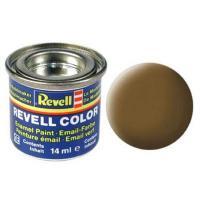 Аксесуари до збірних моделей Revell Краска эмалевая 87. Землисто-коричневая матовая. Фото