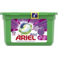 Капсули для прання Ariel Pods Все-в-1 + Экстра защита ткани 12 шт. Фото