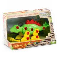 Конструктор Polesie динозавр Стегозавр, 36 элементов и коробке Фото