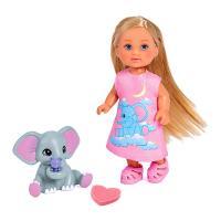 Лялька Simba Эви Спокойной ночи с слоненком и аксессуарами Фото