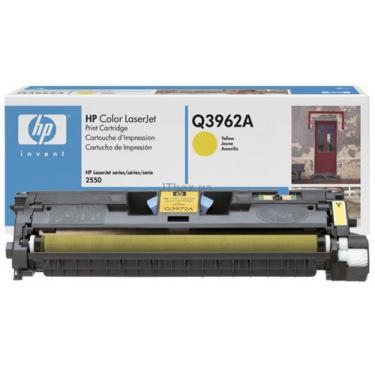 Картридж HP CLJ  122А для 2550 (4K) yellow (Q3962A) - фото 2
