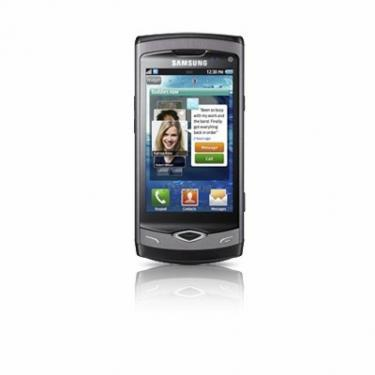 Мобильный телефон GT-S8500 (Wave) Metallic Black Samsung (GT-S8500HKJ) - фото 1